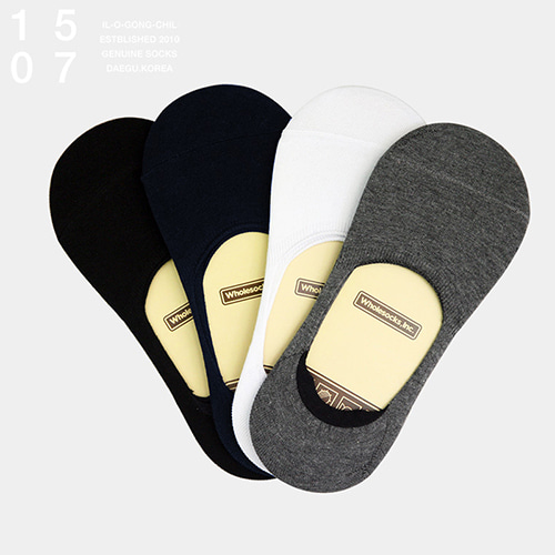 1507 HIDDEN FAKE SOCKS 4 PACK